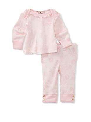 Juicy Baby 2-Piece Top & Pants Set (Lace Print)
