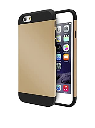 UNOTEC Funda Armor iPhone 6/6S Plus Dorado