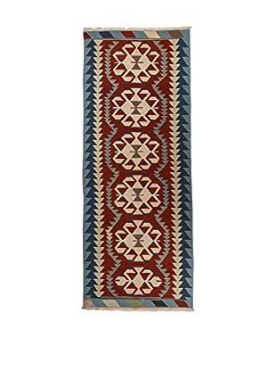 RugSense Alfombra Kilim Anatolia Rojo/Multicolor 256 x 87 cm