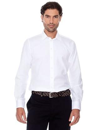 Pedro Del Hierro Camisa Clásica (Blanco)