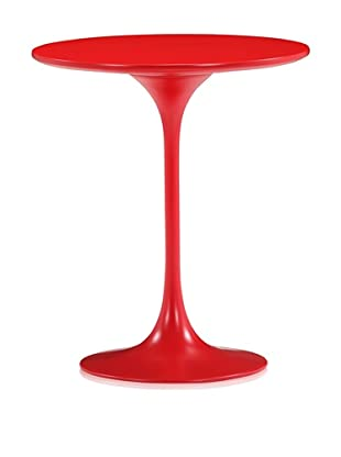 Zuo Modern Wilco Side Table, Red