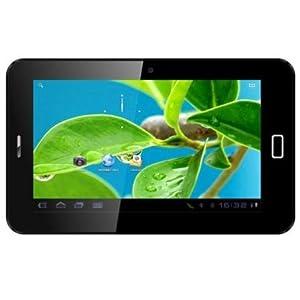 Datawind 7C+ Tablet (7 inch, 4GB, Wi-Fi+ Voice Calling), Black