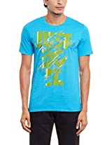 Nike Men's Round Neck Polyester T-Shirt