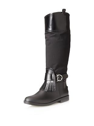 Salvatore Ferragamo Women's Trish Boot (Black)
