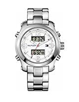 Tommy Hilfiger Analog-Digital White Dial Men's Watch - TH1790948J