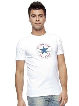 Converse Camiseta T-Flock (Blanco)