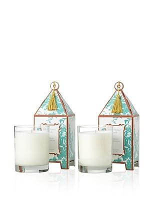 Seda France Set of 2 Camellia Montagne Pagoda Candles