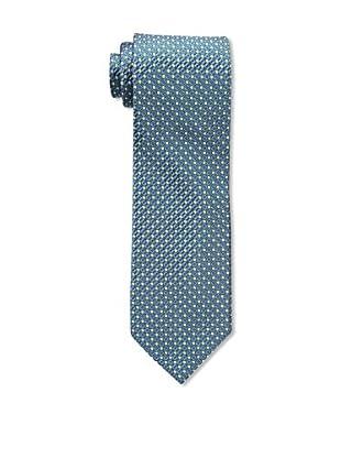 Bruno Piattelli Men's Neat Silk Tie, Navy Multi