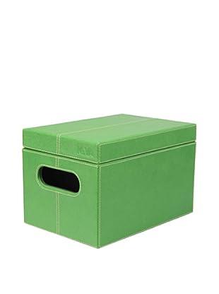 Nava Design Box Saffiano (Verde)