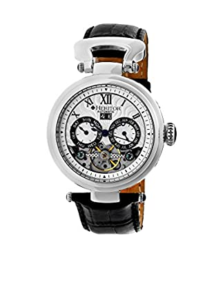 Heritor Automatic Uhr Ganzi Herhr3301 schwarz 48  mm
