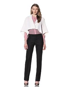 Chloé Women's High-Low Jacket (White)
