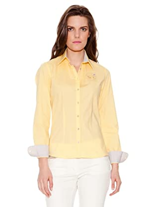 La Martina Camisa Logotipo (Amarillo)