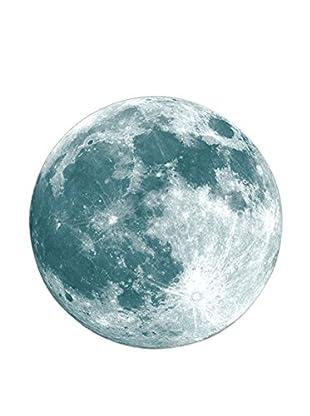 LO+DEMODA Wandtattoo Noctilucent Moon