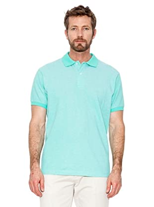 Cortefiel Polo Oxford (Türkis)