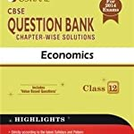 Oswaal CBSE Question Bank chapter-wise solutions: Economics for Class 12