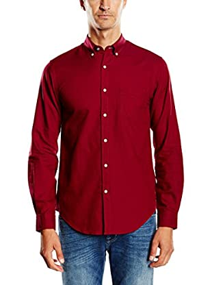 Cortefiel Camisa Hombre Oxford Liso T-B/D