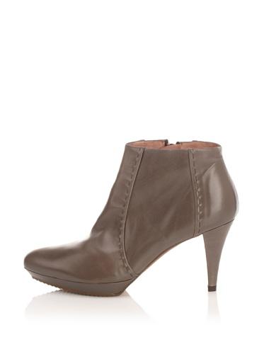 Pura Lopez Women's Platform Bootie (Grey)