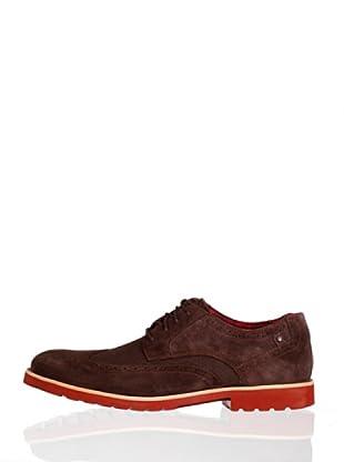 Rockport Zapatos Cordones Wingtip (Marrón)