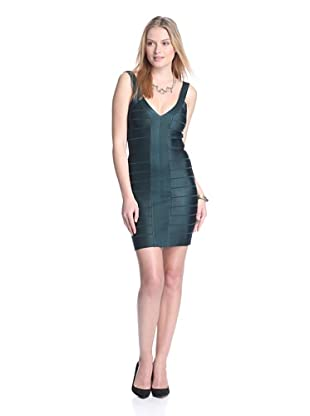 French Connection Women's Foxy Faye Bodycon Dress (Jewel Green)
