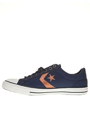 Converse Zapatillas Star Play Ev Ox (Azul Marino / Naranja)