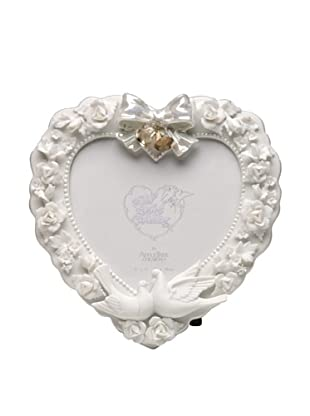 Perfect Wedding Roses & Doves Porcelain Photo Frame, 5