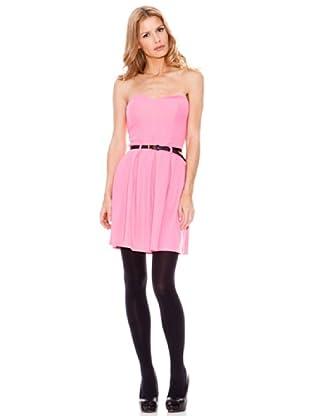 Rare Vestido Strapless (Rosa)