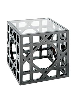 Home Philosophy Macro Side Table, Metallic