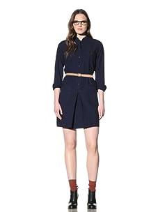 Steven Alan Women's LT Shirt Dress (Indigo)