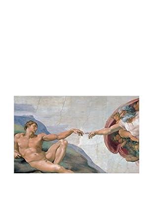 Artopweb Panel Decorativo Michelangelo Creation Of Adam