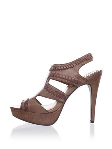 MaxStudio Women's Xist Platform Sandal (Cuoio)