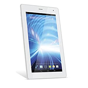 Lava Ivory Qpad R704  Tablet (WiFi, 3G, Voice Calling), White