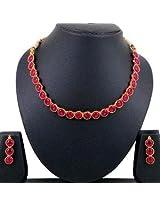 Kemp Stone Necklace Set By Spargz