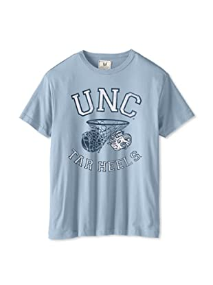 Tailgate Clothing Company Men's UNC Tarheelong Sleeve Short Sleeve Tee (Sky Blue)