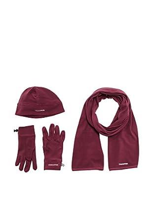 Craghoppers Set Mütze, Schal und Handschuhe Fleece
