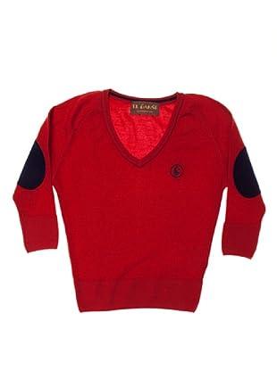 El Ganso Jersey Pico Con Coderas (Rojo)