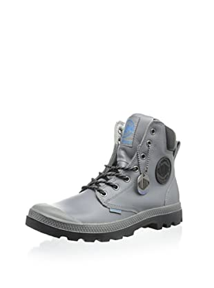 Palladium Unisex Pampa Waterproof Boot (Grey)