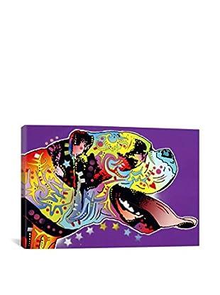 Dean Russo Gallery Happy Boxer Canvas Print