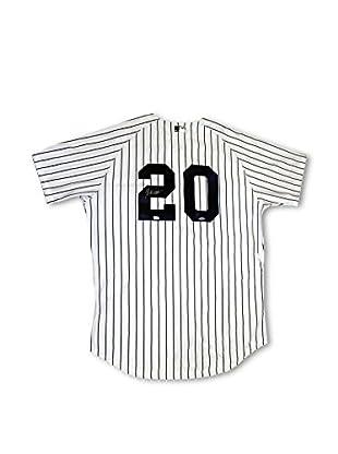Steiner Sports Memorabilia Jorge Posada Signed New York Yankees Authentic Home Jersey