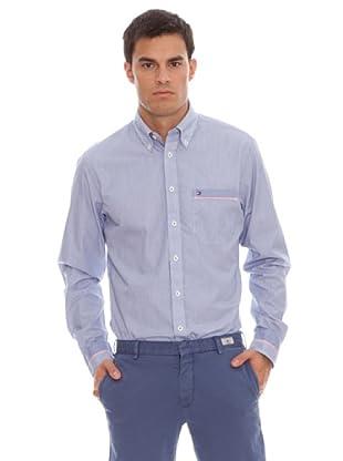 Tommy Hilfiger Camisa Alec Stp Cf1 (Azul / Blanco)