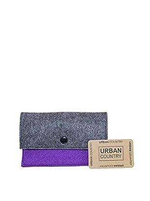 Urban Country Portemonnaie Slim Flat Over Purse violett