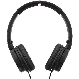 JVC HAS400B Carbon Nanotube On-Ear Headphones (Black)