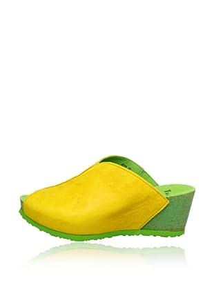 Think Keil-Pantolette Zilli (Gelb)