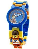 LEGO Kids' 8020219 LEGO Movie Emmet Plastic Minifigure Link Watch
