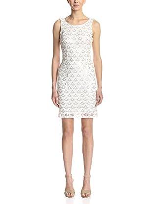 Sandra Darren Women's Scalloped Sequin Dress