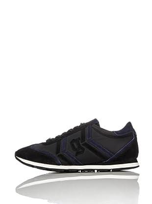 Galliano Zapatillas New Jh (Negro / Azul)