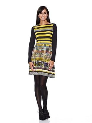 Peace & Love Vestido Estampado Maya (Multicolor)