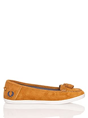 Fred Perry Náuticos Betty Suede Carbon Blue (Gengibre)