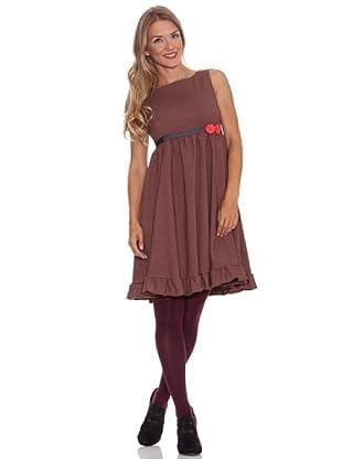 Divina Providencia Vestido Baby Doll (Rojo)