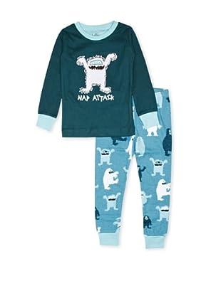 Hatley  Pijama Panticapea (Azul)