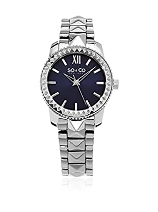 So & Co new York Uhr mit japanischem Quarzuhrwerk Woman Womens Pyramid Design Quartz Watch 36.0 mm